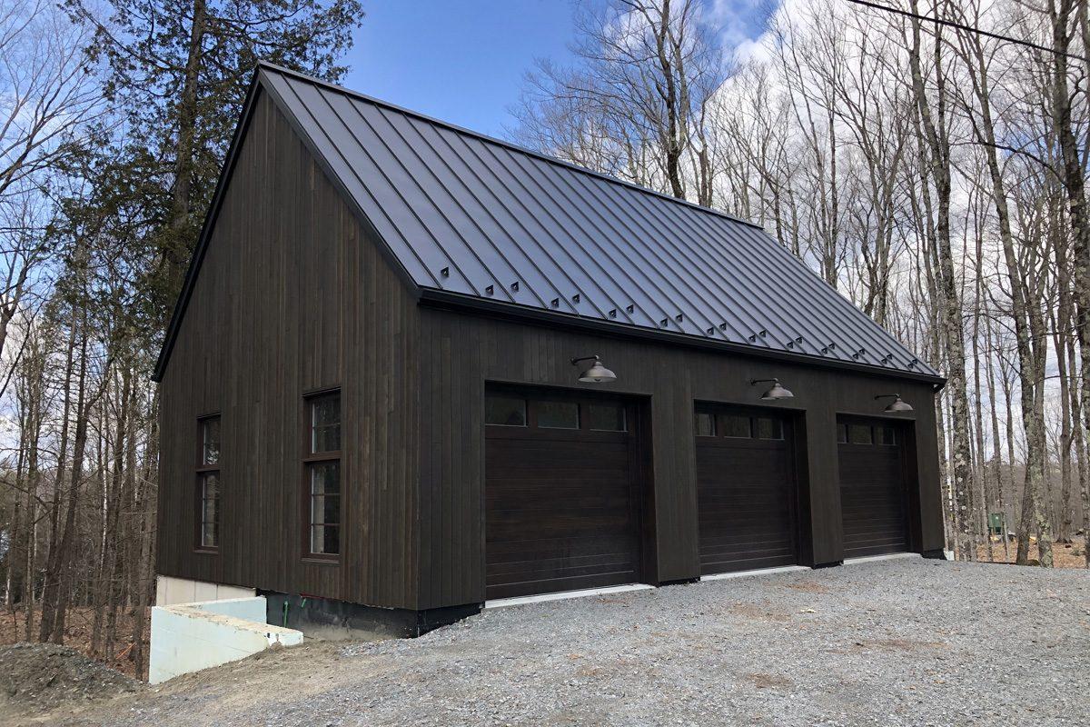 3-door garage